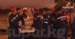 Москвадагы өрттөн каза болгондордун сөөктөрүн жакындары тосуп алышты