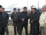 Т.Сариев Чоң-Сары-Ойдун тургундары менен жолукту