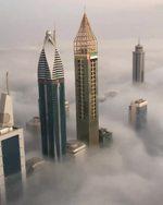 Араб ханзадасы Дубайды бийиктиктен көрсөттү