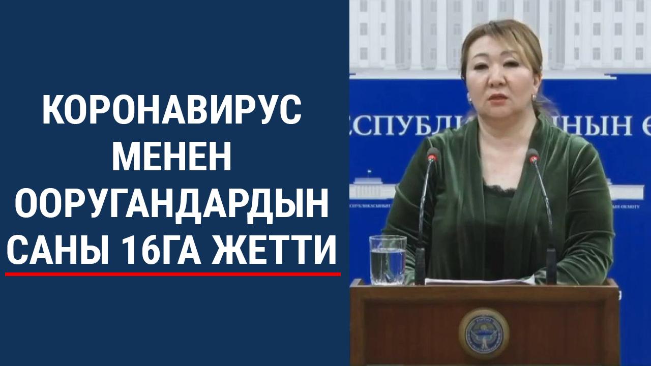 Кыргыз өлкөсүндө дагы 2 жарандан коронавирус аныкталды